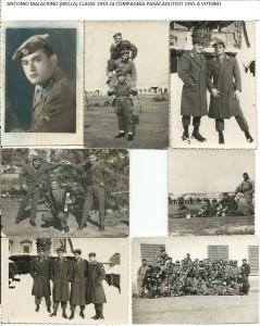 MALACRINO ANTONIO 2à COMPAGNI PARACADUTISTI 1955